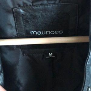 Maurices Jackets & Coats - Vegan Leather Moro Jacket